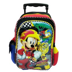 Disney Mickey Mouse Roaster Race Pre School Trolley Bag