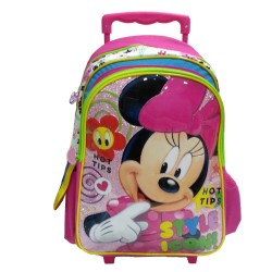 Disney Minnie Mouse Style Pre-School Trolley Bag
