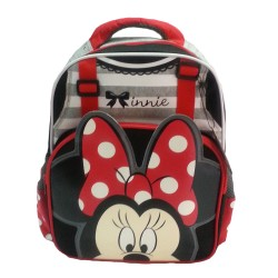 Disney Minnie Mouse 3D Ribbon Pre-School Bag