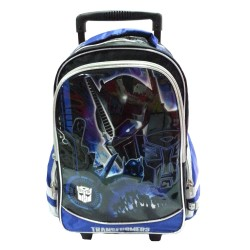 Transformers Dark Primary School Trolley Bag