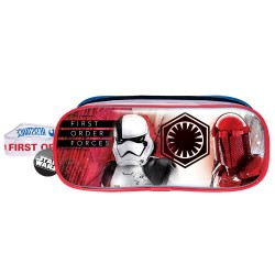 Disney Star Wars Epi8 The Resistance Transparent Square Pencil Bag Set