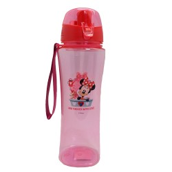 Disney Minnie Mouse Flower 650Ml Pc Bottle * Bpa Free