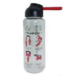 Disney Minnie Mouse Tie 750Ml Tritan Bottle * Bpa Free