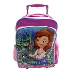 Disney Sofia The First Mermaid Primary School Trolley Bag
