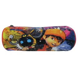 Boboiboy Galaxy Round Pencil Bag