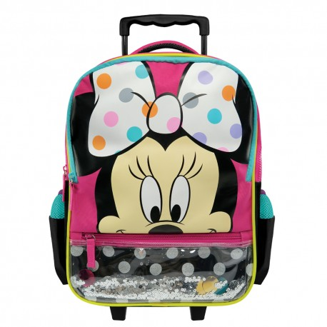 Disney Minnie Mouse Fashion Pre School Trolley Bag