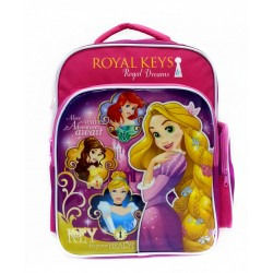 Disney Princess Royal Keys School Bag