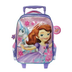 Disney Sofia The First Unicorn Adventure Pre School Trolley Bag