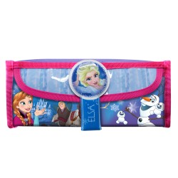 Disney Frozen Adventure Square Pencil Bag with Pocket