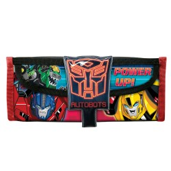 Transformers Trid Power Square Pencil Bag with Pocket