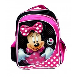 Disney Minnie Mouse I Love MM School Bag