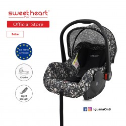 Sweet Heart Paris CS322 Car Seat cum Carriage (DIAMOND) - 2019 Edition