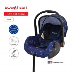 Sweet Heart Paris CS322 Car Seat cum Carriage (GALAXY) - 2019 Edition