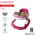 Sweet Heart Paris Baby Walker BW01 (Pink) With 3 Height Adjustment\''