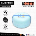 Suavinex Boo Collection BPA Free Multilayer Bento Tupperware Container (Blue)
