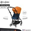 CYBEX GOLD EEZY S TWIST (Tropical Blue) Stroller With 360 Degree Rotation - Cybex Malaysia Official
