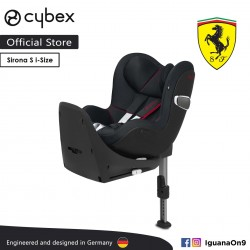Cybex Platinum Sirona Z i-Size Reclining Backrest Infant Car Seat (Victory Black) - Cybex Malaysia