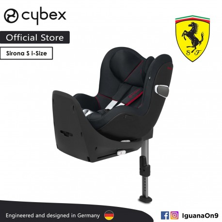 'Cybex Platinum Sirona Z i-Size Reclining Backrest Infant Car Seat (Victory Black) - Cybex Malaysia Official Store'