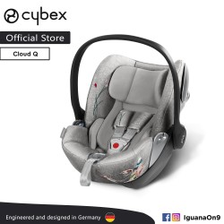 CYBEX Platinum CLOUD Q Reclining Backrest Infant Car Seat (Koi) - Cybex Malaysia Official Store