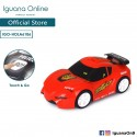 'Iguana Online Interactive Miniature Police Car and Race Car With Stimulated Sounds and Interactive Windshield HOLA6106 (Red)'