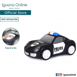 Iguana Online Interactive Miniature Car With Stimulated Sounds and Interactive (Police Car)