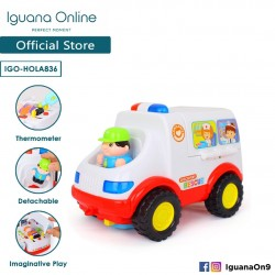 Iguana Online Interactive Learning Minature Ambulance Electronic Music Lighting Universal Car Home M