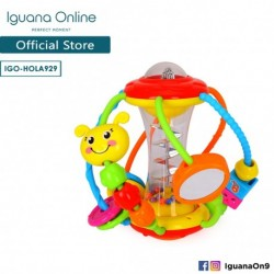 FREE Iguana Online Toddlers World Activity Ball with Multiple Different Games and Activities HOLA929