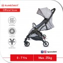 Sweet Heart Paris Compact Stroller Savannah 2.0 with Free Travel Bag (Grey)