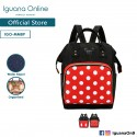 Iguana Online Multifunction Maternity Nappy Large Waterproof Baby Diaper Nuring Bag Travel Backpack (Minnie)