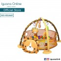 Iguana Online 3-in-1 Multifunctional Baby Infant Floor Play Mat with Toy Balls and Plush Toys PM669