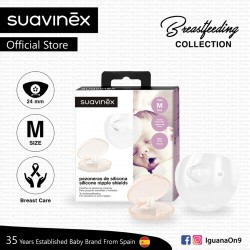 Suavinex BPA Free 0 Months Breastfeeding Collection Nipple Shield for Protecting Prevent Nipple from