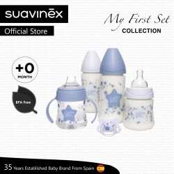 Suavinex My First Set Collection for Newborn (Blue Star)