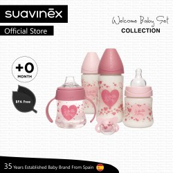 Suavinex My First Set Collection for Newborn (Pink Heart)