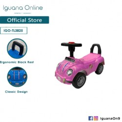 Iguana Online Herbie Beetle Car for Kids Tolo Car Ride On Car TL3825 (Pink)