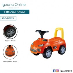Iguana Online Lighting Ranger 180 FLEXIBLE TURNING Ride On Car TL3375 (Orange)