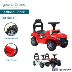 Iguana Online Extreme Off Road Jeep ALL TERRAIN Tolo Car Sport Ride-On Car With Music and Light TL3815 (Red)