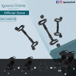 Iguana Online Baby Twin Stroller Connector Adapter Accessories For Connecting Two Double Strollers Shopping Jogging