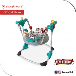 Sweet Heart Paris JUMJUM Activity Baby Jumpers BW10 with Seat Element 360 Degrees [New Edition]