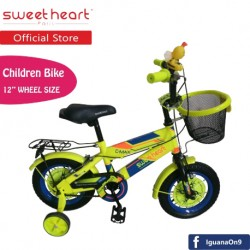 Sweet Heart Paris CB1201 C-MAX Children Bicycle (Neon Yellow) Suitable from 2 to 5 years old