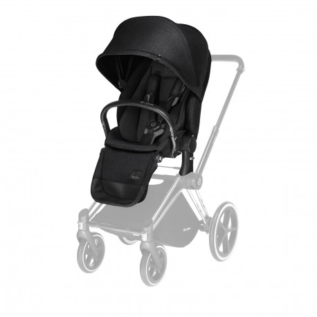 CYBEX PRIAM Lux Seat (Stardust Black) for Platinum PRIAM - Cybex Malaysia Official Store