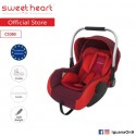 Sweet Heart Paris CS385 Baby Car Seat (Red) with Aluminum Handle