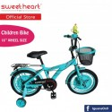 Sweet Heart Paris CB1601 M-MAX Children Bicycle (Green)\''