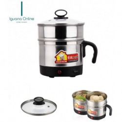 OOS Iguana Online 1.8L Stainless Steel Double Layer Electric Multi Cooker
