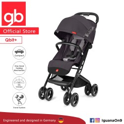 gb QBIT Stroller (Silver Fox Grey) - The Luxury Traveller (gb Malaysia Official)