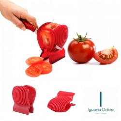 Iguana Online DIY Multi-functional Perfectly Sliced Tomatoes Onion Cutter Fruit Slicer