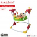 Sweet Heart Paris Baby Floor Jumpers BW10 with Seat Element Rotates 360 Degrees (Pink)