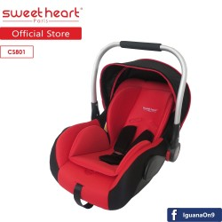 'Sweet Heart Paris CS801 Baby Car Seat (Red)'