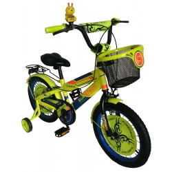 'Sweet Heart Paris CB1601 C-MAX Children Bicycle (Neon Yellow) Suitable from 4 to 9 years old'