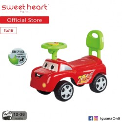 Sweet Heart Paris TL618 Activity Music Ride on Car