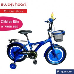 'Sweet Heart Paris CB1601 M-MAX Children Bicycle (Blue)'